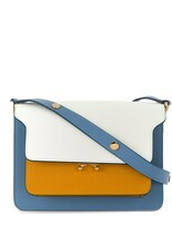 Marni colour-block Trunk shoulder bag