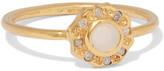 SCOSHA - Wondersun Gold-plated, Opal And Diamond Ring - 5