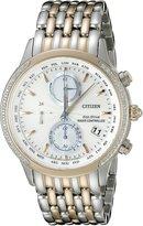 Citizen Eco-Drive Women's FC5006-55A World Chronograph A-T Watch