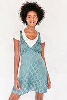 Kimchi & Blue Kimchi Blue Sophia Jacquard Mini Slip Dress