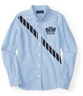Ralph Lauren Diagonal Stripe Oxford Shirt