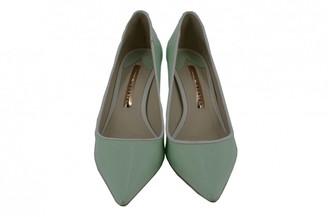 Sophia Webster Green Patent leather Heels