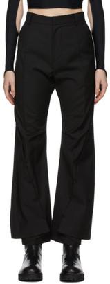 Hyein Seo Black Pierced Trousers