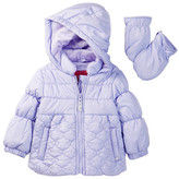London Fog Quilted Cutie Jacket (Baby Girls)