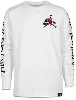 Jordan Boys' Nike Air Logo-Sleeve Tee - Big Kid