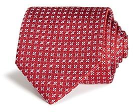 Eton Petal Grid Silk Classic Tie