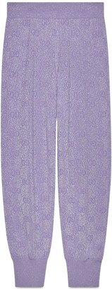 Gucci Sparkling wool trousers