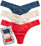 Hanky Panky Signature Plus Size Lace Thong 3-Pack