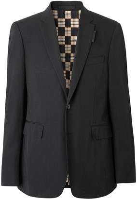 Burberry Slim Fit Technical Twill Tailored Jacket