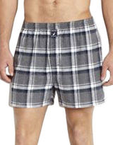 Nautica Flannel Knit Boxers