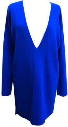 Hermes Blue Cashmere Dresses