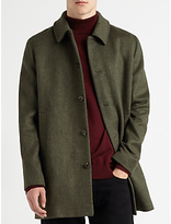 Samsoe & Samsoe Overcoat, Dark Green