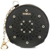 Furla 'Babylon' coin purse keyring