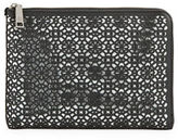 Ivanka Trump Rio Laser-Cut Leather Tech Clutch