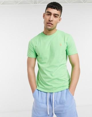 Polo Ralph Lauren player logo t-shirt in lime green