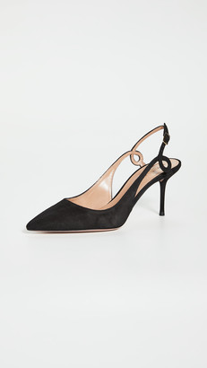 Aquazzura Serpentine Slingbacks 75mm