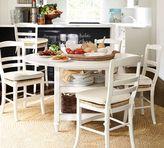 Pottery Barn Shayne Drop-Leaf Kitchen Table, White