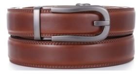 Mio Marino Men's Dapper Leather Ratchet Belts