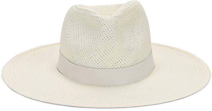 Janessa Leone Zoe Packable Hat in Bleach | FWRD