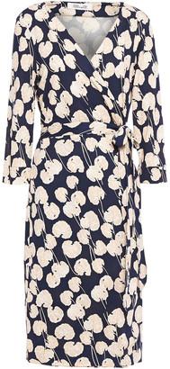 Diane von Furstenberg New Julian Two Printed Silk-jersey Wrap Dress