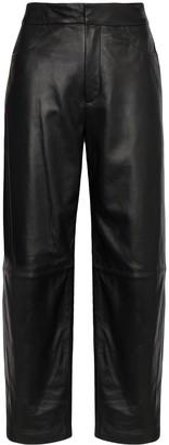 Totême Novara high-rise wide-leg trousers