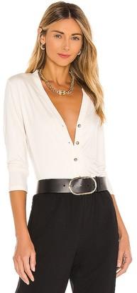 L'Agence Britney 3/4 Sleeve Cardigan