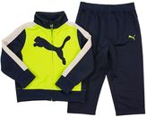 Puma Toddler Boy Big Cat Logo Tricot Track Jacket & Pants Set