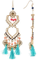 Cara Accessories Venetian Inspired Chandelier Earrings
