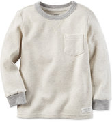 Carter's Heathered Thermal Shirt, Toddler Boys (2T-4T)