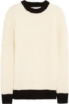 J.W.Anderson Waffle-knit merino wool sweater