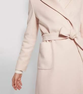 Cinzia Rocca Wool Belted Wrap Coat