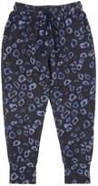 Anne Kurris Leopard Printed Cotton Jogging Pants