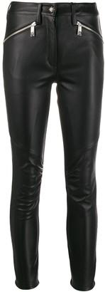 John Richmond Muxima leather trousers