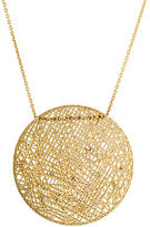 Yossi Harari 18K Wire Lace Diamond Necklace