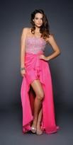 Lara Dresses - 21743 in Hot Pink