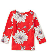 Joules Little Girls 2-6 Harbour Floral-Print Top