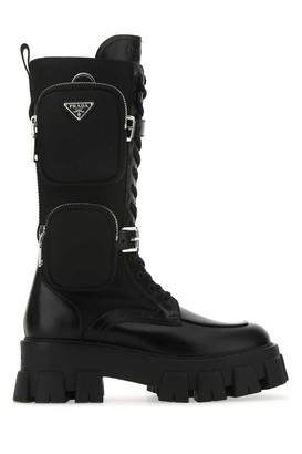 Prada Monolith Chunky Sole Boots
