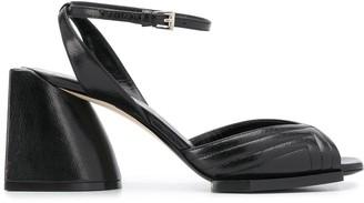 No.21 Block 80mm Heel Sandals