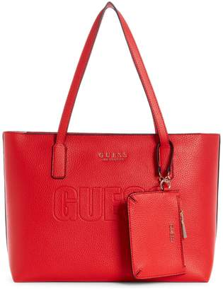 GUESS Wilder Textured Tote