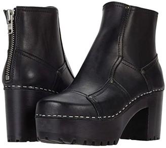 Swedish Hasbeens Mikaela (Black/Black) Women's Pull-on Boots