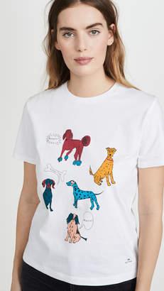 Paul Smith White Dog T-Shirt