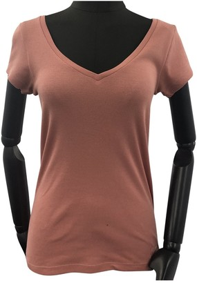 KENDALL + KYLIE Pink Cotton Top for Women