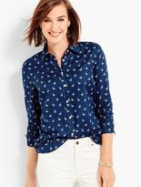 Talbots The Classic Casual Shirt - Duck Print