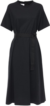 Y-3 Tailored Cotton T-shirt Dress