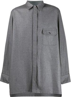 Fumito Ganryu Chest Pocket Oversized Shirt
