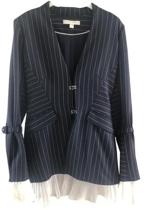 Jonathan Simkhai Blue Polyester Jackets
