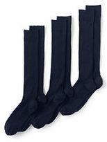 Classic Men's Seamless Toe OTC Cotton Rib Dress Socks (3-pack)-Pewter Heather