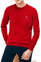 Lacoste Classic Crew Neck Jumper, Red