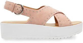 Marc Fisher Delilah Platform Suede Sandals