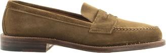 Alden Tan Suede Loafers